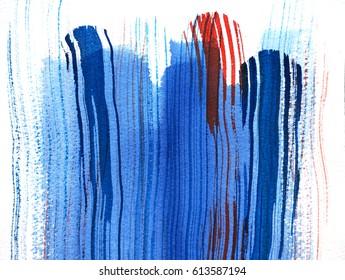 abstract watercolor background design with stripes texture