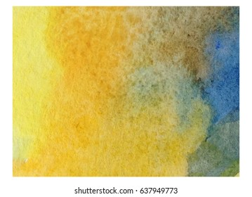 abstract watercolor background handmade saturated colors bright color sand