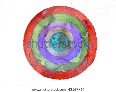 abstract watercolor background target stock photo edit now