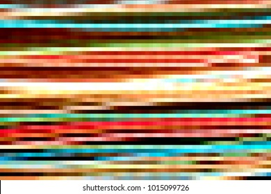 Abstract watercolor colorful square  line  illustration design backgrounds.