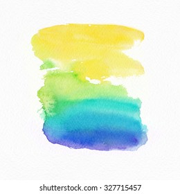 "Abstract watercolor hand painted background. .Album ""New Abstract Water Colour Backgrounds"". Watercolor Wash. Watercolor Ombre Background. Wet Watercolor Wash. Blue Watercolor Wash."