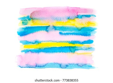 abstract watercolor stains  stroke background. painted splash by drawing