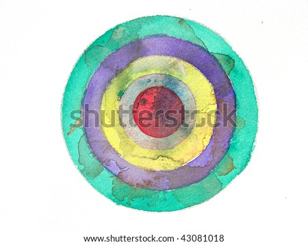 abstract watercolor target background stock photo edit now