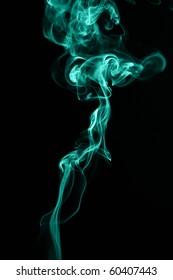 abstract wave smoke