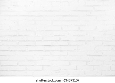 Abstract weathered grunge texture of old white brick wall pattern, background or backdrop for architectural material detail or design element concepts