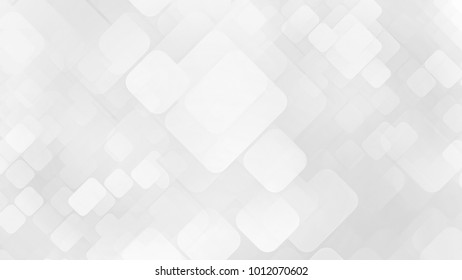 abstract white background with squares