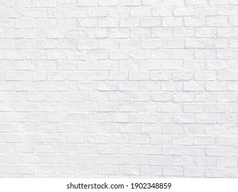 Abstract white brick wall texture for pattern background,white background