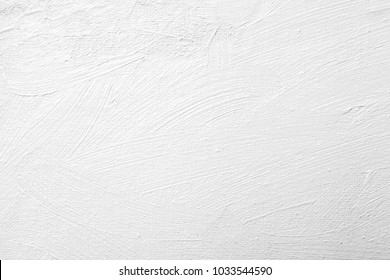 abstract white brush stroke oil paint texture on canvas
