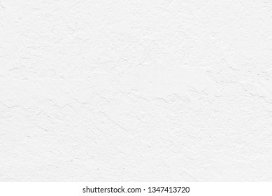 Abstract white cement or concrete wall texture for background, Old painted white.