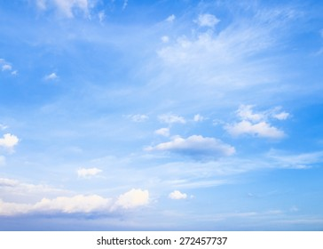 Abstract white cloudy and blue sky in sunny day.