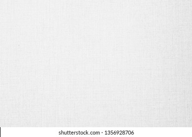 Abstract white color canvas wallpaper textures and surface for background