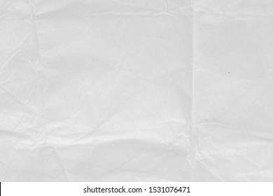 Abstract  white Crumpled paper texture background.