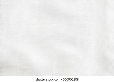 Abstract white fabric silk texture for background texture.