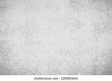 Abstract white and gray concrete tile wall textures and surfaces for background