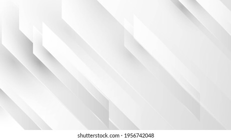 Abstract white and grey background. Subtle abstract background, blurred patterns. Light pale vector background. Abstract pale geometric pattern.