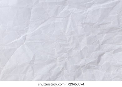 Abstract white paper wrinkled for background