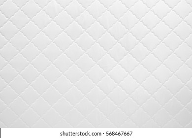 mattress pattern. Abstract White Texture Of Mattress Bedding Pattern Background. R