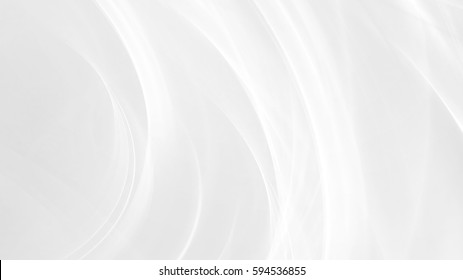 Abstract winter background with smooth light lines