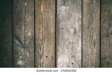abstract wooden background. Rustic plank wall with scratches. Vintage background. Place for text.