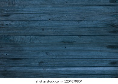 abstract wooden blue background, wood texture
