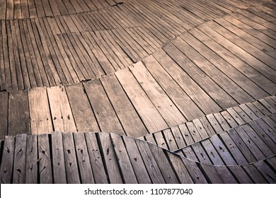 Abstract wooden floor on backgrounds. Beautiful wooden.