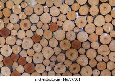 Abstract wooden texture pattern background