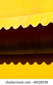 Abstract Yellow Awning