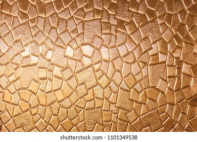 abstract yellow glass surface texture