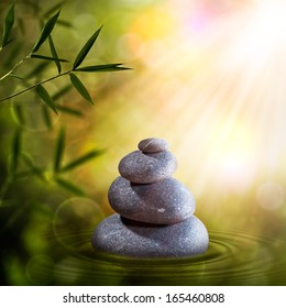 Abstract zen backgrounds for your design