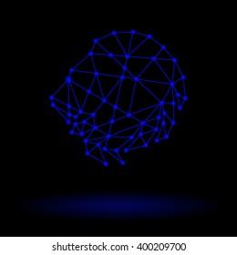 Abstract Zodiac Leo
