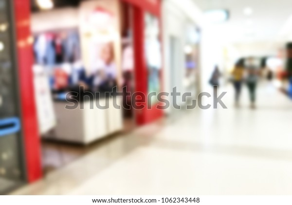 Abstract,Blurred image of store.for interior or background usage