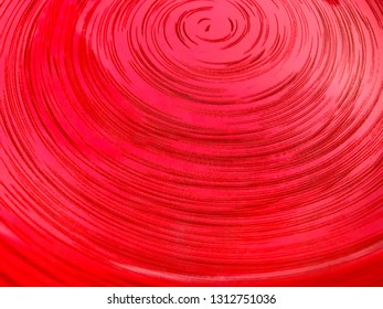 Abstraction, background - concentric circles on a dark pink background.