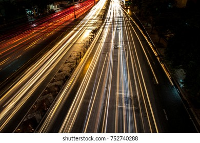 abstract,light, night, city, background.