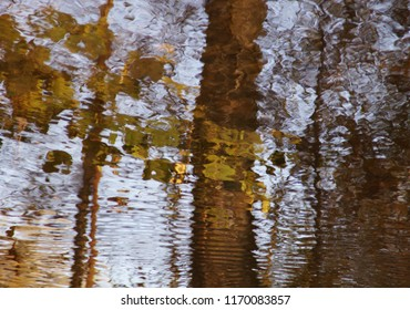 abstrakt forms and pattern in reflection