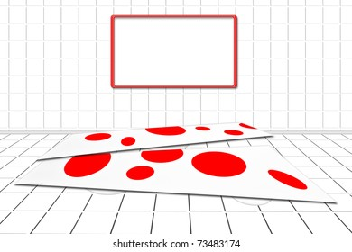 abstrakter Tisch