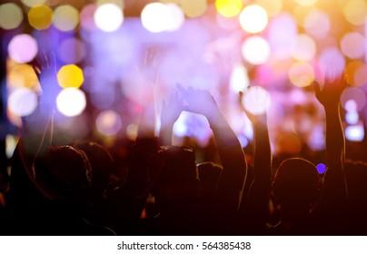 Abstrat blur concert light for background