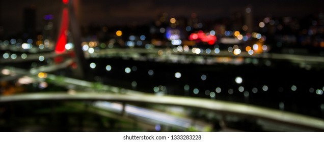 Abstrat colored lights bokeh background