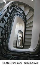 abstrat stairs and interior