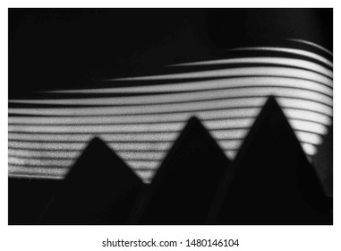 abstrat textura black and white
