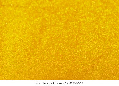 abtract light blur Bokeh for luxury background. Sparkling golden light for Christmas celebrations. Elegant design Glowing shiny gold giltter For greeting cards.