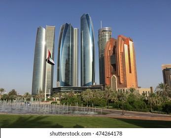 Abu Dabi city view