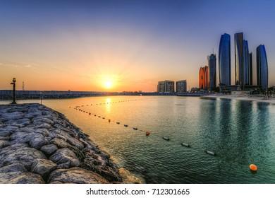 Abu Dhabi Etihad Towers  - Cityscape