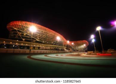 Abu Dhabi Formula 1 Track taken in 2015