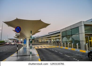 Abu Dhabi International airport in the capital of UAE , United Arab Eimrates