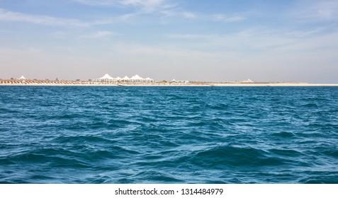 Abu Dhabi island Sir Bani Yas, UAE