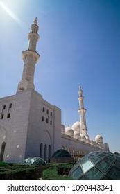 Abu Dhabi Sheikh Zayed mosque (exterior)