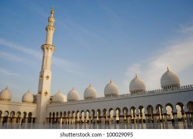 Abu Dhabi Sheikh Zayed White Mosque,United Arab Emirates