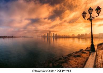 Abu Dhabi Skyline, Abu Dhabi, UAE
