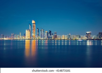 Abu Dhabi skyline - United Arab Emirates