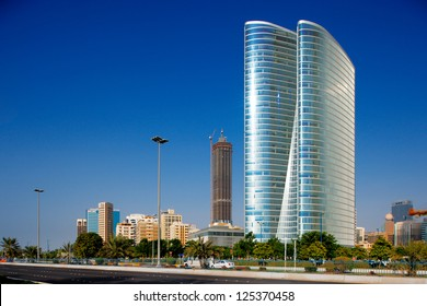 ABU DHABI UAE MAR 17 Skyline Stock Photo (Edit Now) 184713671